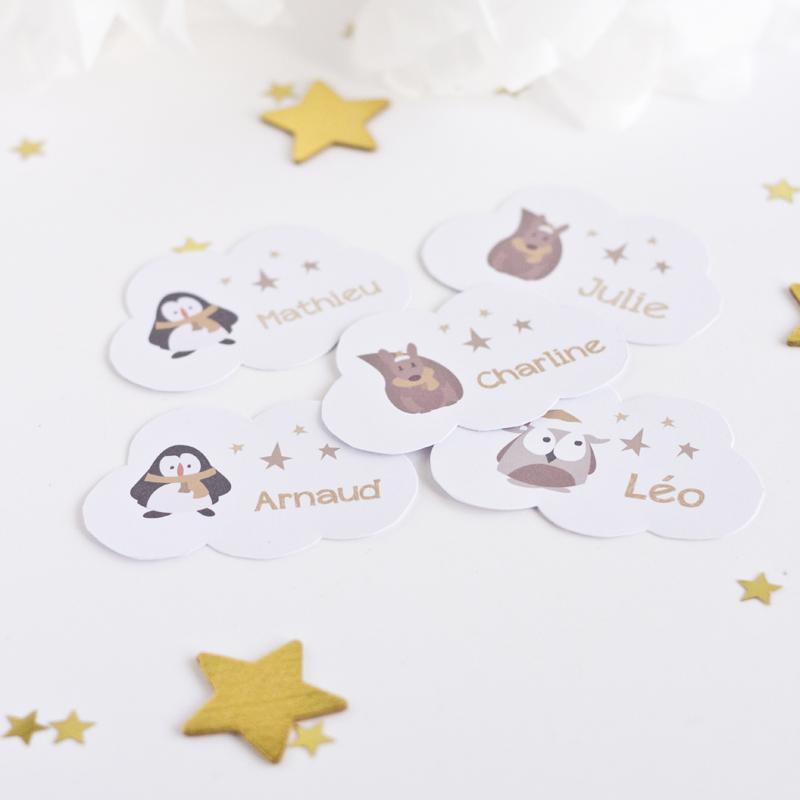 Étiquettes Noël 2013 - free printable - paperboat.fr