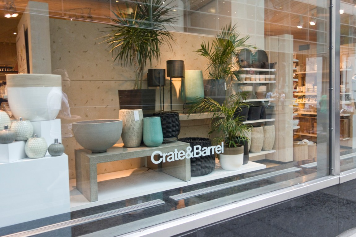 New York - Shopping - Crate & Barrel - www.paperboat.fr