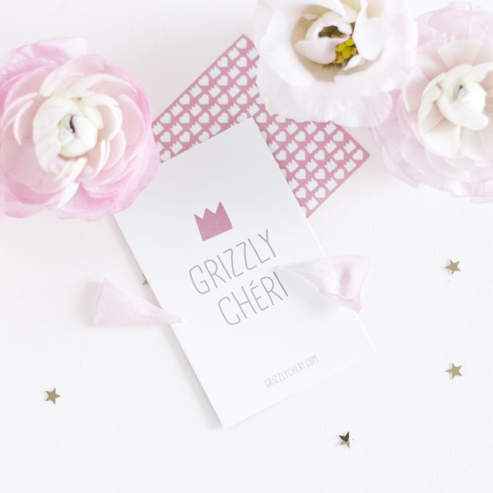 Grizzly Cheri - Marguerite - www.paperboat.fr
