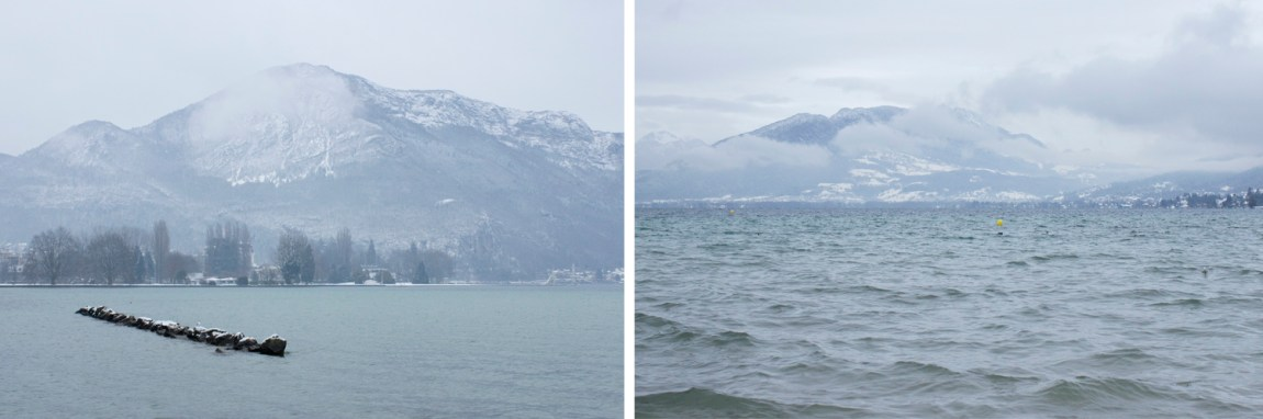 Annecy sous la neige hiver 2016 - www.paperboat.fr