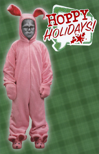 Ralphie In Bunnie Suit A Christmas Story Funny Christmas