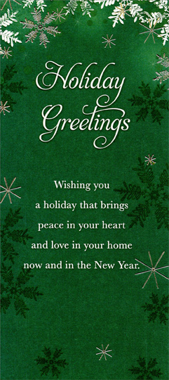 Deep Wallpaper Quotes Holiday Greetings Snowflakes On Deep Green Christmas