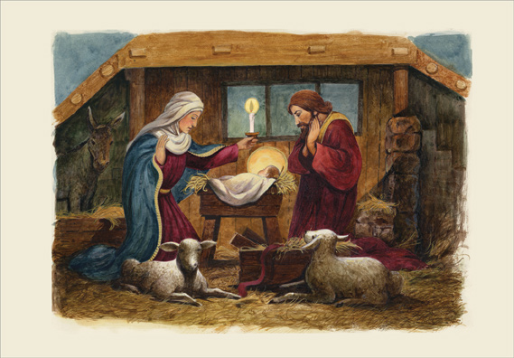 The Nativity Religious Christmas Card By Designer Greetings
