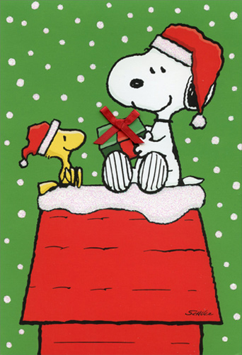 Peanuts Fall Wallpaper Snoopy Woodstock Gift Exchange Box Of 16 Peanuts Christmas