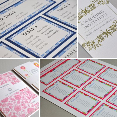 Wedding Stationery Items