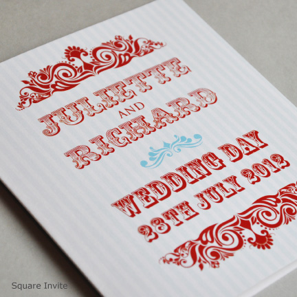Wedding Stationery CARNIVAL