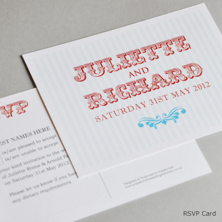 Wedding Stationery RSVP