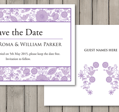 When to send a wedding save the date card