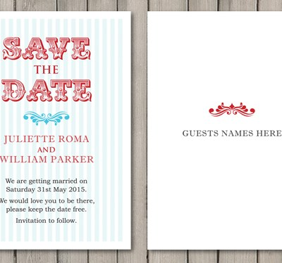 Personalise your Wedding Stationery