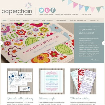 Wedding Stationery in Leicester