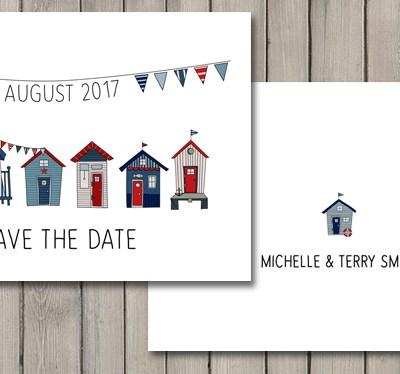 Brand new wedding stationery collection – Beach Hut