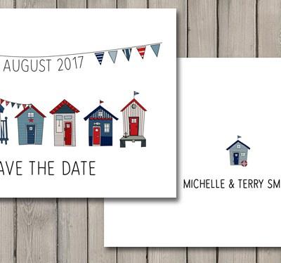 Brand new wedding stationery collection – Beach Hut