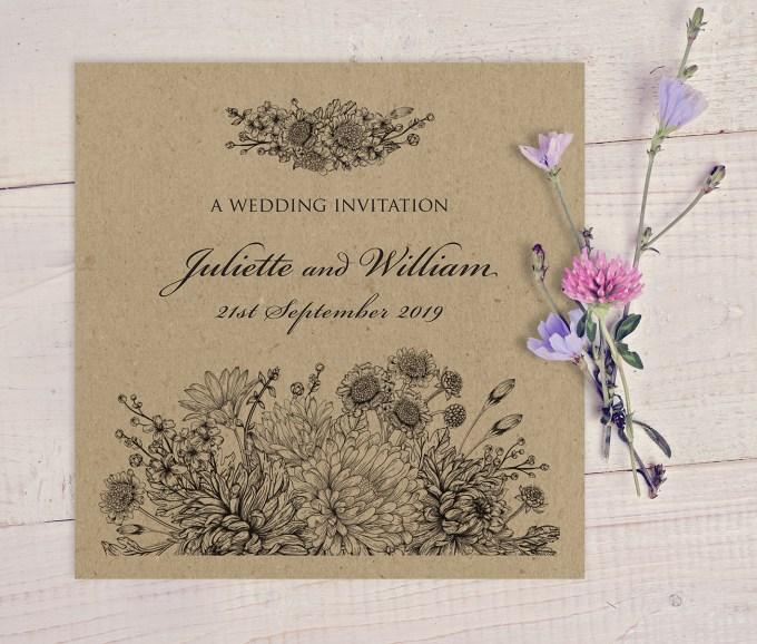 Botanitcal Gardens wedding stationery