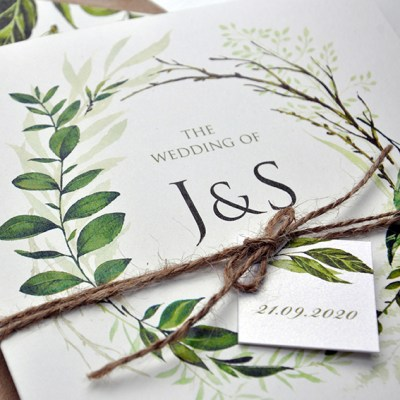 Greenery  – our brand new wedding stationery collection