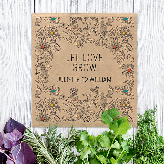 Eco Friendly Wedding Stationery