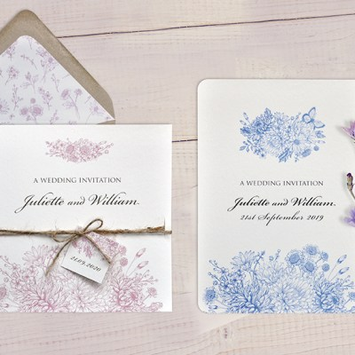 Botanical Gardens Wedding Stationery