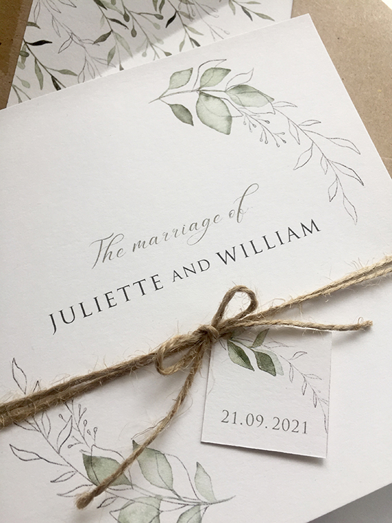 Serenity Wedding Stationery
