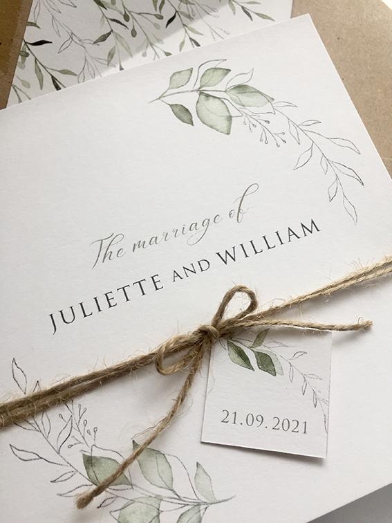 Serenity Wedding Stationery
