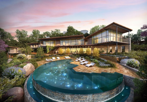 No Ordinary Spa: An Adult Jungle Gym, a Grotto and ...