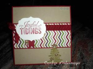 Card Sketch sample by Carolyn