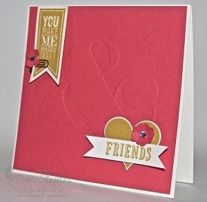 Paper Craft Crew Card Sketch #103 Design Team submission by Pam Staples