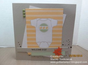 Paper Craft Crew Card Sketch #106 design team submission by Stacey Tomkowiak