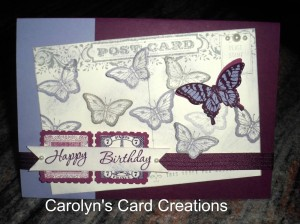 Paper Craft Crew Card Sketch #108 design team submission by Carolyn Lindenmayer