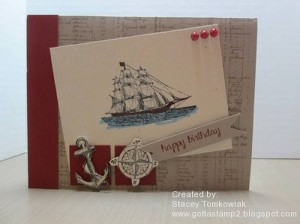 Paper Craft Crew Card Sketch #108 design team submission by Stacey Tomkowiak