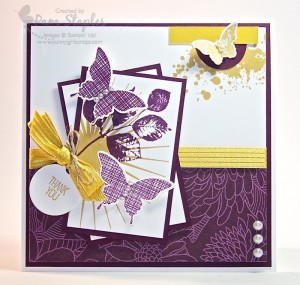 Paper Craft Crew Card Sketch #114 design team submission by Pam Staples.