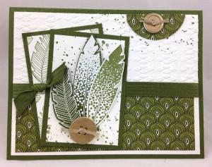 Paper Craft Crew Card Sketch #115 design team submission by Glenda Calkins
