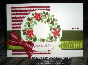 Paper Craft Crew Card Sketch #117 design team submission by Carolyn Lindenmayer