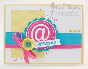 Paper Craft Crew Card Sketch #117 design team submission by Pam Staples.