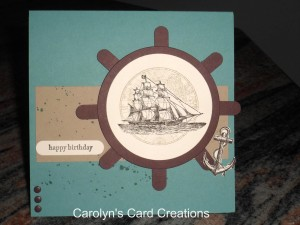 Paper Craft Crew Card Sketch #127 design team submission by Carolyn Lindenmayer