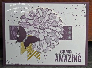 Featured Artisan for the Paper Craft Crew Card sketch 129. #stampinup #papercraftcrew