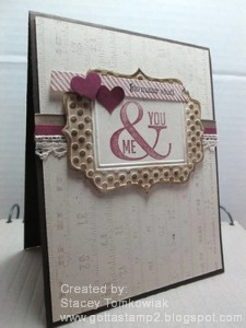 Paper Craft Crew Card Sketch #131 design team submission by Stacey Tomkowiak
