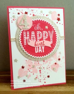 Paper Craft Crew Card Sketch #131 design team submission by Jan McQueen. #stampinup #papercraftcrew #janmcqueen