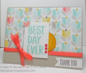 Paper Craft Crew Card Sketch #135 design team submission by Kim Skinner. #stampinup #papercraftcrew #kimskinner