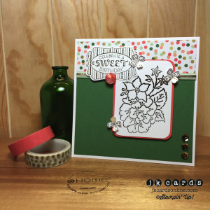 Paper Craft Crew Card Sketch #139 design team submission by Justin Krieger. #justinkrieger #papercraftcrew #stampinup
