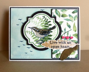 Paper Craft Crew Card Sketch #144 design team submission by Heidi Weaver. #stampinup #papercraftcrew #heidiweaver