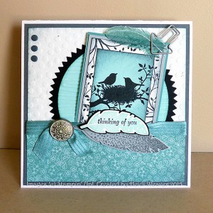 Paper Craft Crew Card Sketch #145 design team submission by Heidi Weaver. #stampinup #papercraftcrew #heidiweaver