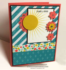 Featured Artisan for Paper Craft Crew Card Sketch 143