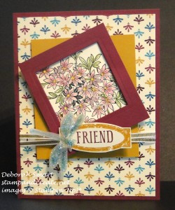 Paper Craft Crew Card Sketch #150 design team submission by Deborah Smart. #stampinup #papercraftcrew #deborahsmart