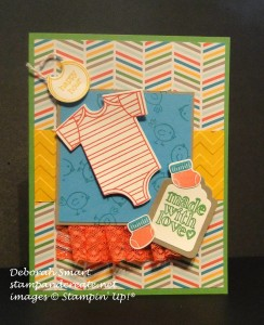 Paper Craft Crew Card Sketch #151 design team submission by Deborah Smart. #stampinup #papercraftcrew #deborahsmart