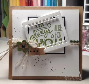 Paper Craft Crew Card Sketch #150 design team submission by Eva Bussom. #stampinup #papercraftcrew #evabussom