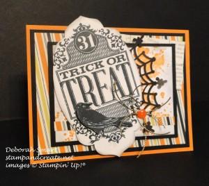 Paper Craft Crew Card Sketch #162 design team submission by Deb Smart. #stampinup #papercraftcrew #deborahsmart