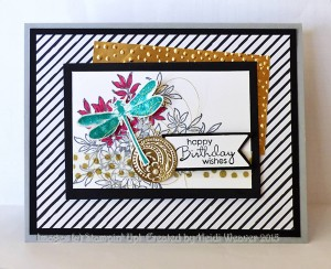 Paper Craft Crew Card Sketch #162 design team submission by Heidi Weaver. #stampinup #papercraftcrew #heidiweaver