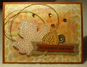 Paper Craft Crew Challenge #167 design team submission by Mary Noble. #stampinup #papercraftcrew #marynoble