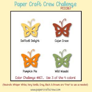 Paper Craft Crew Challenge 167. #papercraftcrew #colorchallenge