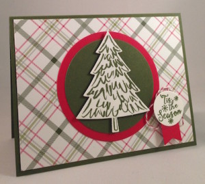 Paper Craft Crew Card Sketch #166 design team submission by Terri Walker. #stampinup #terriwalker