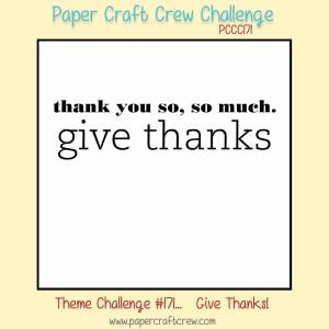 Paper Craft Crew Challenge 171. #papercraftcrew #themechallenge